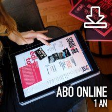 Abo online 1 an