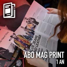 Abo mag print 1 an