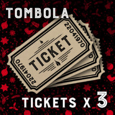 3 tickets de Tombola Daily Rock