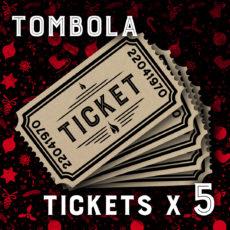 5 tickets de Tombola Daily Rock